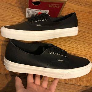 e61531168e Vans Shoes - NewinBox Vans Authentic Snake Skin Leather Unisex